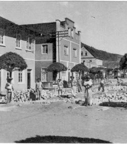 primeira pavimentação de Jaraguá do Sul
