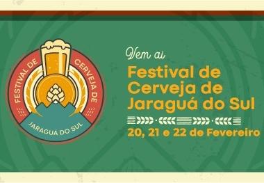 Festival da Cerveja movimenta Jaraguá do Sul, de 20 a 22 de fevereiro