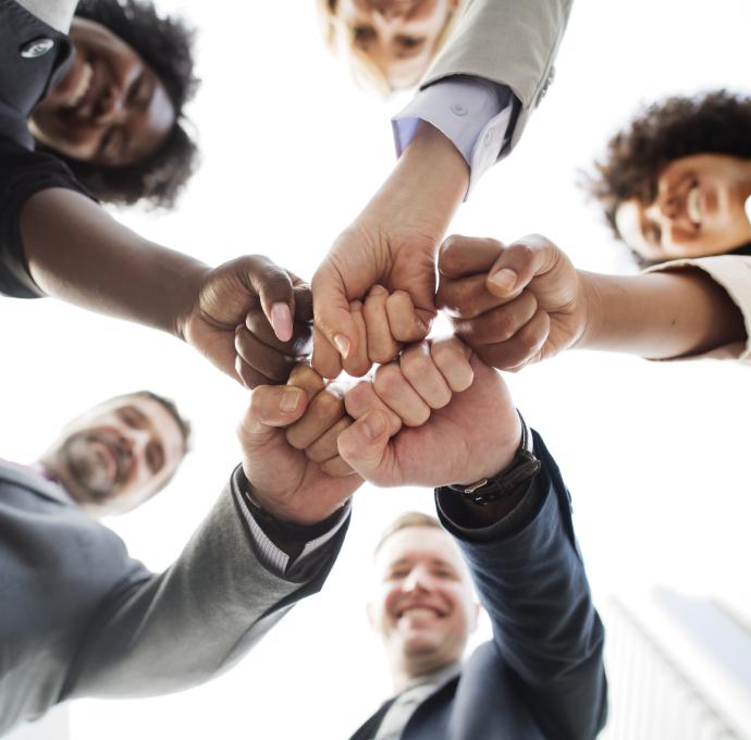 Juntos geramos conexões entre os segmentos representados