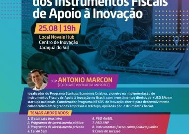 Evento gratuito traz informações sobre cenários fiscais e inovações