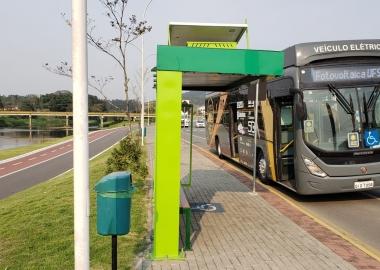 Ônibus elétrico passa a circular em Jaraguá do Sul a partir desta semana