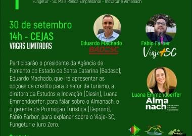 Viver Jaraguá quer mostrar oportunidades ao desenvolvimento do turismo regional