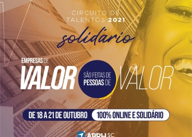 ABRH-Jaraguá do Sul promove Circuito de Talentos Solidário